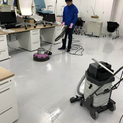 京都府精華町の事務所清掃