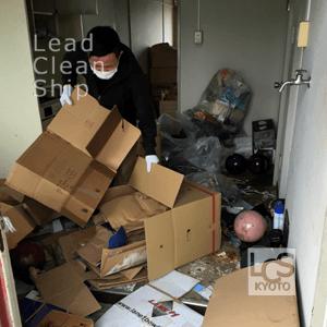 京都府城陽市・ゴミ屋敷の掃除