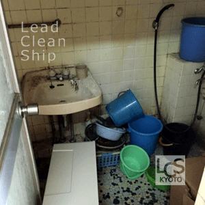 ゴミ屋敷の掃除前3・城陽市