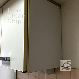 キッチン化粧板の補修後