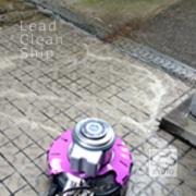 マンション共用部の洗浄作業