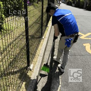 マンションの日常清掃風景2/京都清掃会社