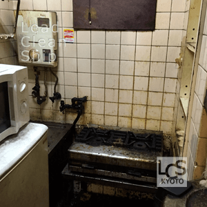 喫茶店の厨房清掃