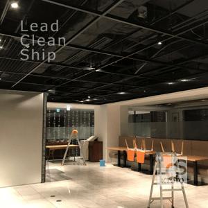 ホテルの天井清掃