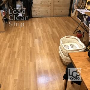 飲食店舗様の定期清掃・京都市