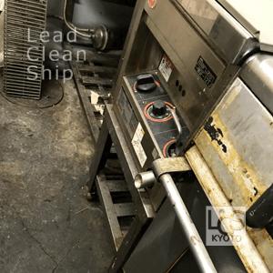 厨房の清掃前