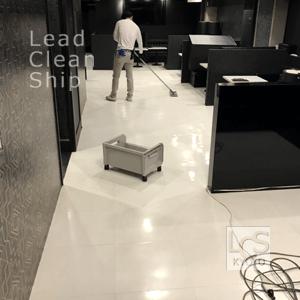 飲食店舗様のワックス清掃・祇園