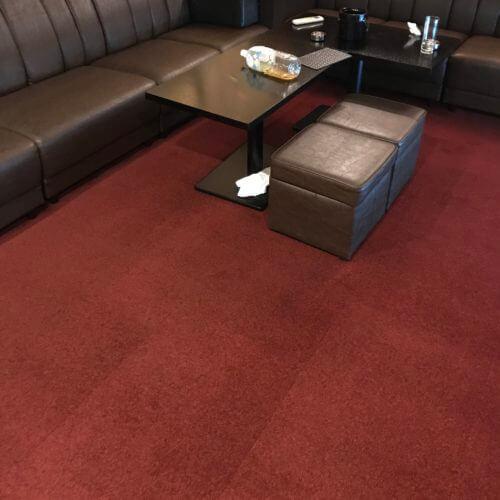 飲食店のカーペット洗浄後|仕上がり