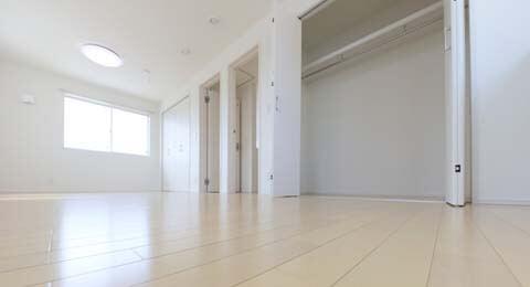 空室清掃のお部屋
