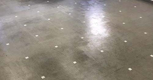 接着剤の除去作業