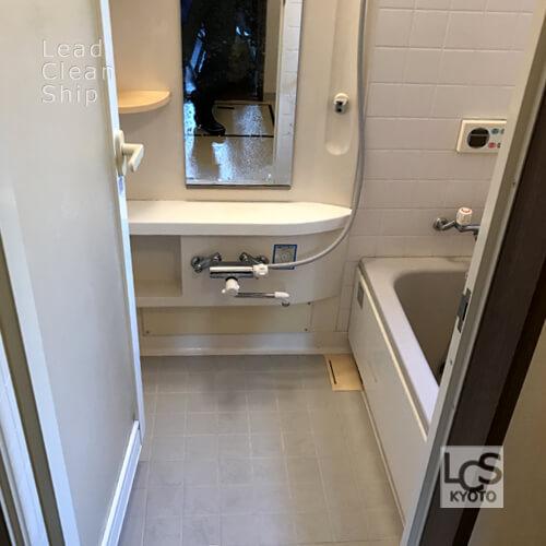 浴室清掃後:長岡京市