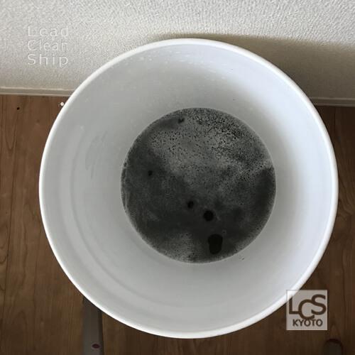 福祉施設のエアコン洗浄・汚水