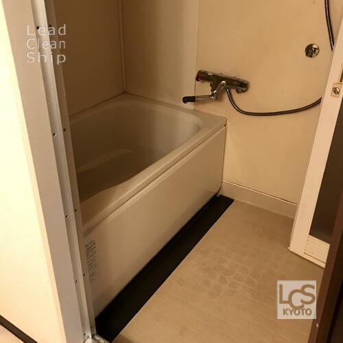 極度汚れ風呂のお掃除後