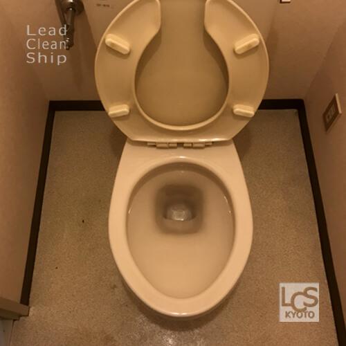 極度汚れトイレのお掃除後