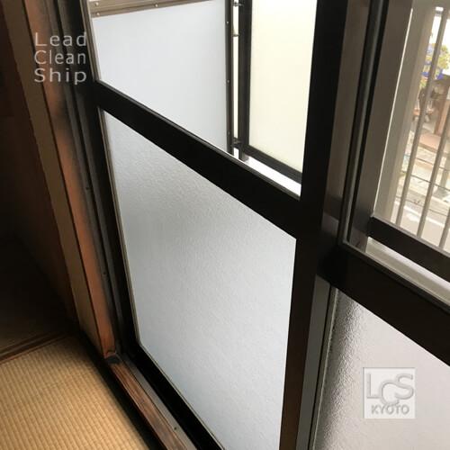 極度汚れ窓ガラスのお掃除後