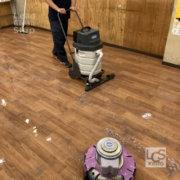 飲食店の床清掃2