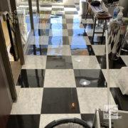中京区の美容室さま床ワックス2