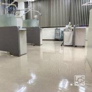 歯科医院さま床洗浄ワックス3:LCS京都