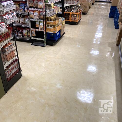 京都市のスーパー清掃3