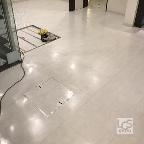 美容院さま:床剥離ワックス塗布:北区2