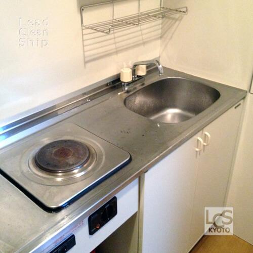 キッチン洗浄後:伏見区