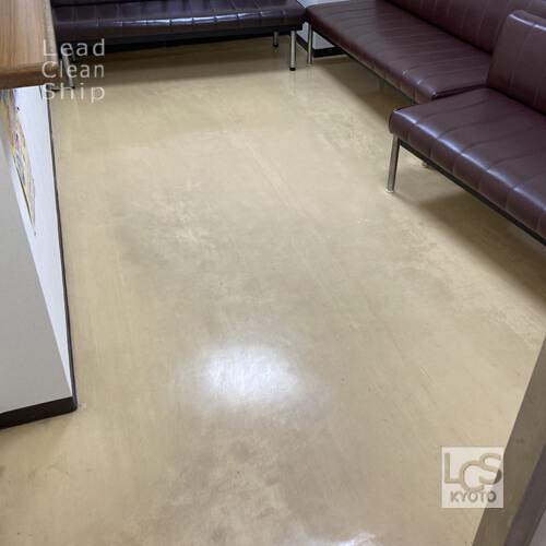 京都市北区の歯科クリニックさま床剥離前
