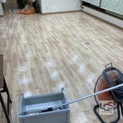 北区の福祉施設さま床洗浄4